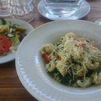 Zum Beispiel -pasta, kasvisversio