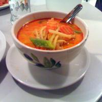 punainen currykana kookosmaidolla